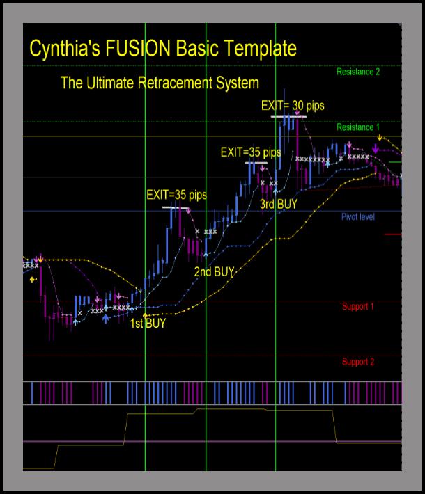 Cynthia's Basic Fusion MT4 Template